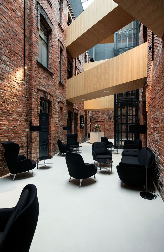 """Viešbutis """"Park Hotel Viljandi"""" (arch. """"KAOS Architects""""), Rekonstrukcijos kategorijos laimėtojas. Foto: Terje Ugandi"""