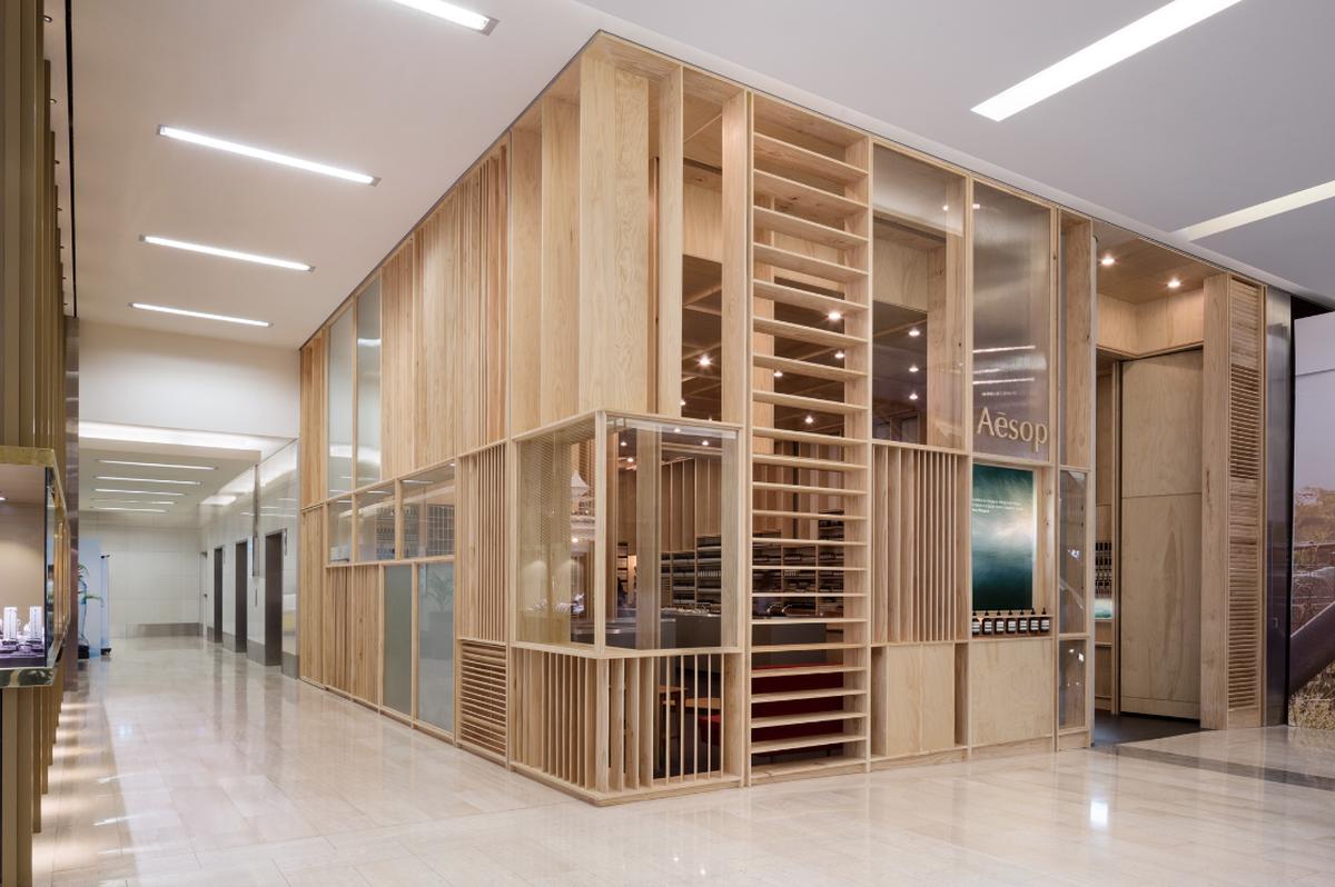 """Parduotuvė Sidnėjuje (arch. """"mlkk Studio"""")."""