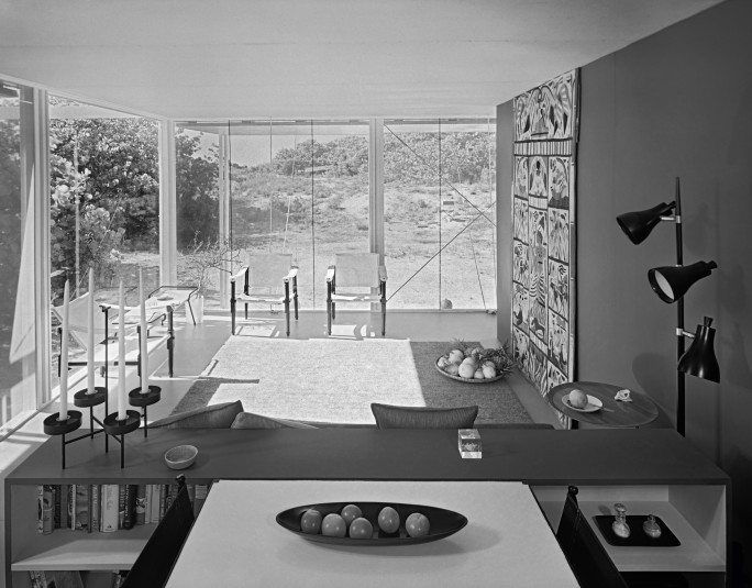 Svečių namas Floridoje, arch. P.Rudolph, 1952 m. Foto: Ezra Stoller