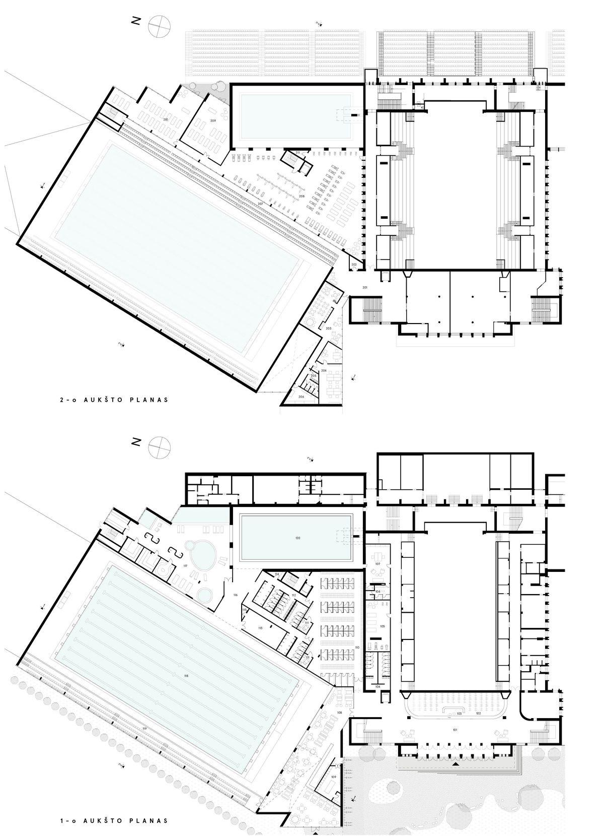 """Konkursinis projektas devizu """"D11"""", arch. P.Daugis ir P. Žakauskas (""""Studija Heima""""), 1-ji vieta, 5.000 eur. premija"""