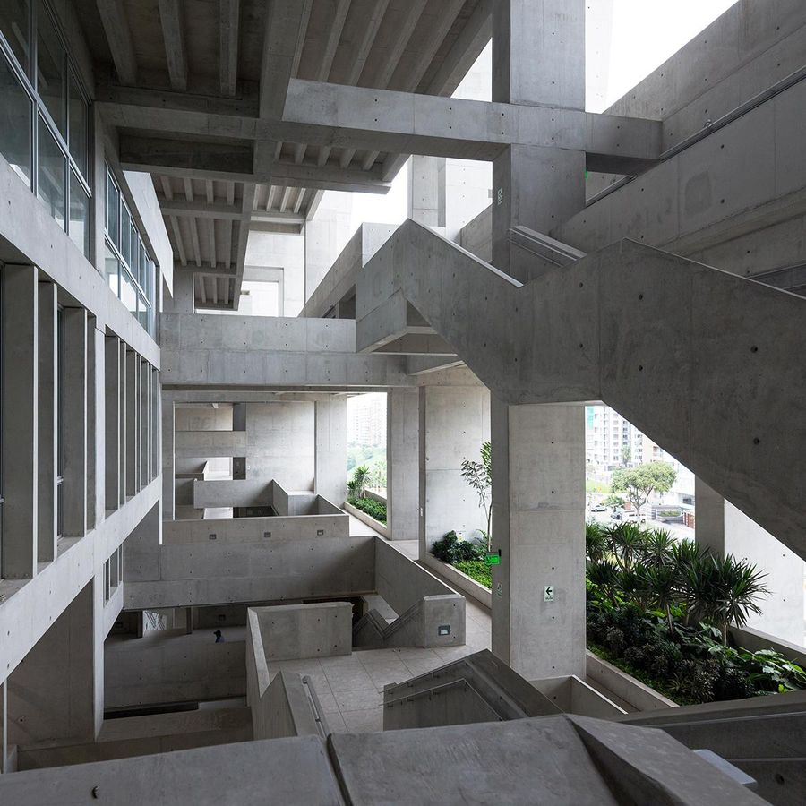"UTEC universiteto miestelis Limoje (arch. ""Grafton Architects""). Foto: Iwan Baan"