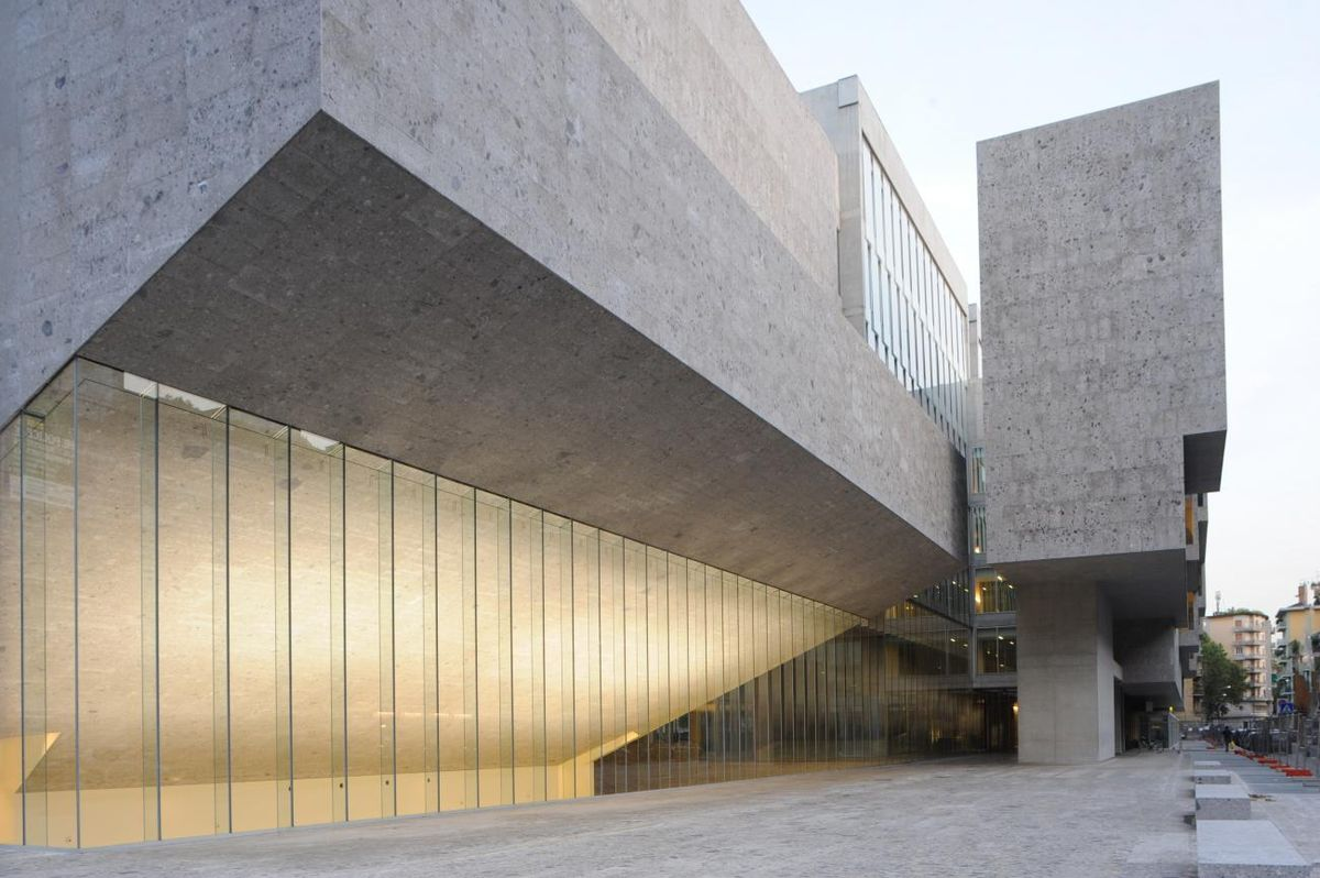 "Bocconi universitetas Milane (arch. ""Grafton Architects""). Foto: Federico Brunetti"