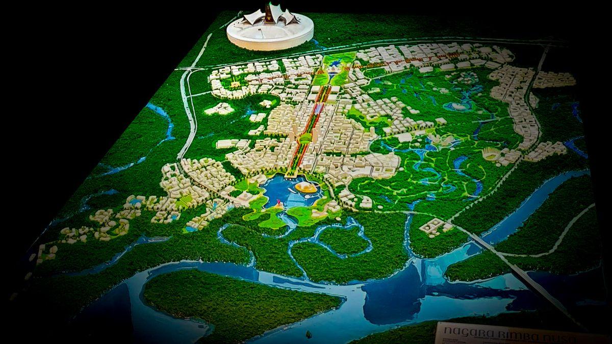 "Indonezijos sostinės Borneo saloje konkursinis projektas ""Nagara Rimba Nusa"", 1-oji vieta, arch. URBAN. Foto: Erwida Maulia"