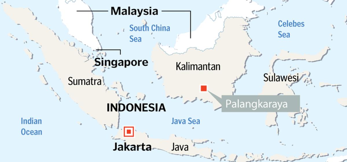 Indonezija sostinę 1000 km iš Džakartos į Borneo (Kalimantano) salą iškelti planuoja vos per 4 metus