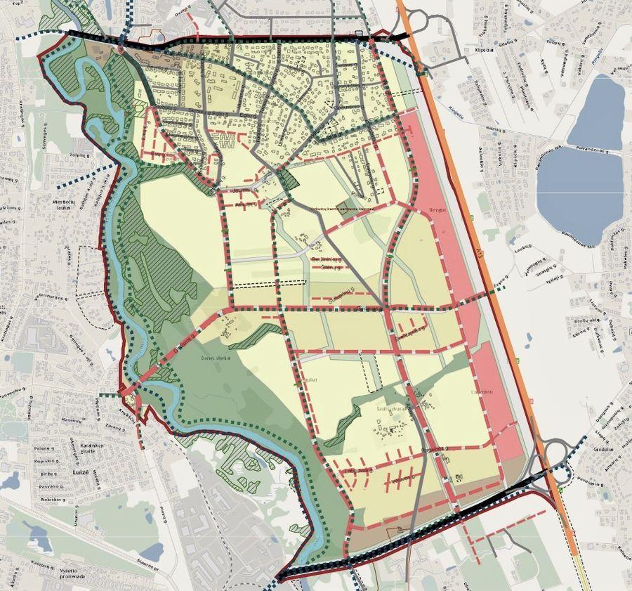 Klaipėdos m. rytinės dalies B teritorijos susisiekimo infrastruktūros vystymo specialusis planas