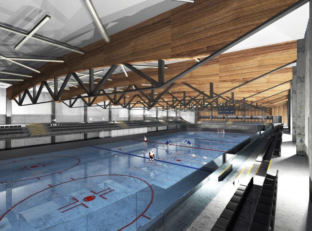 Naujoji Kauno ledo arena (arch. G.Jurevičius)