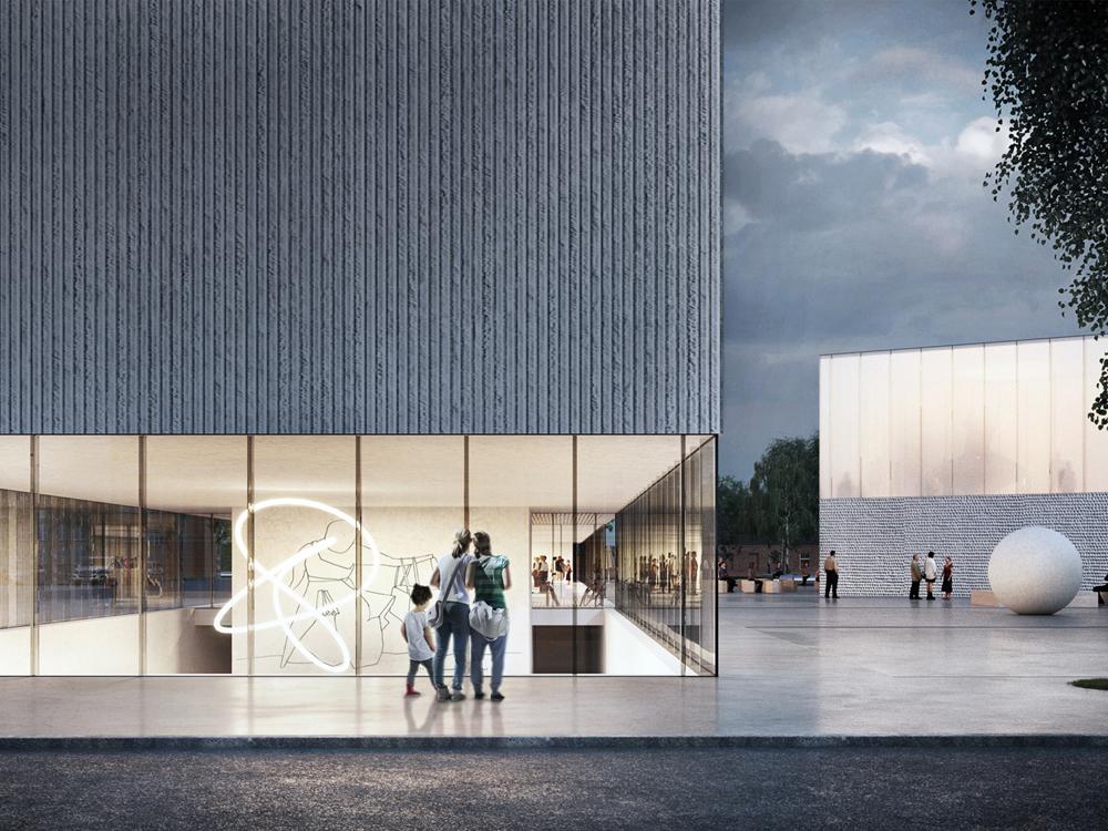 """Pav.: SEMC (arch. A.Syrusas, G.Šidlauskaitė, R.Bertašius; """"Implmnt Architects"""")."""