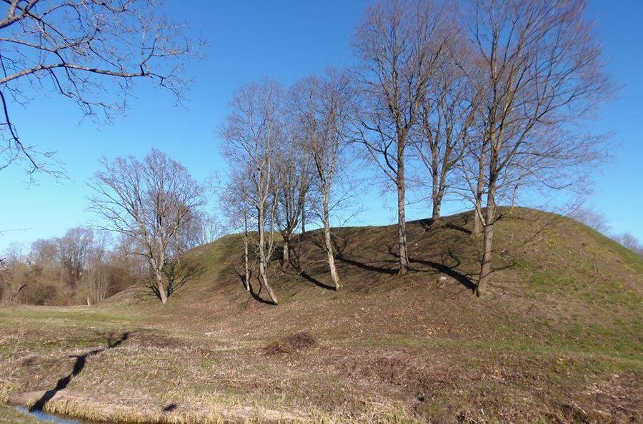 Bišpilio piliakalnis Jurbarko raj.. Foto: KPD