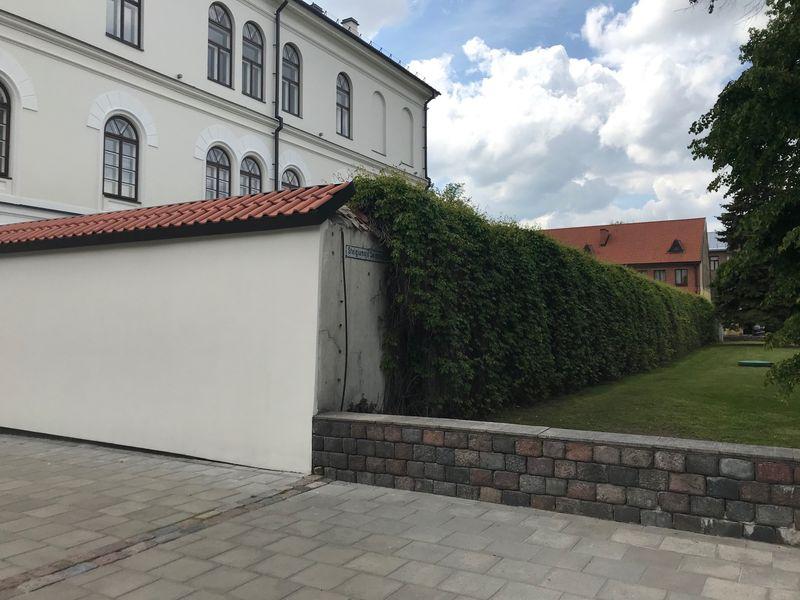 Architektai R.Preikšienė ir S.Gudas rengia Kauno Maironio universitetinės gimnazijos remonto ir sporto paskirties pastato projektinius pasiūlymus, kuriuos pristatys Kauno Architektūros ir urbanistikos ekspertų tarybai. Foto: ©PILOTAS.LT