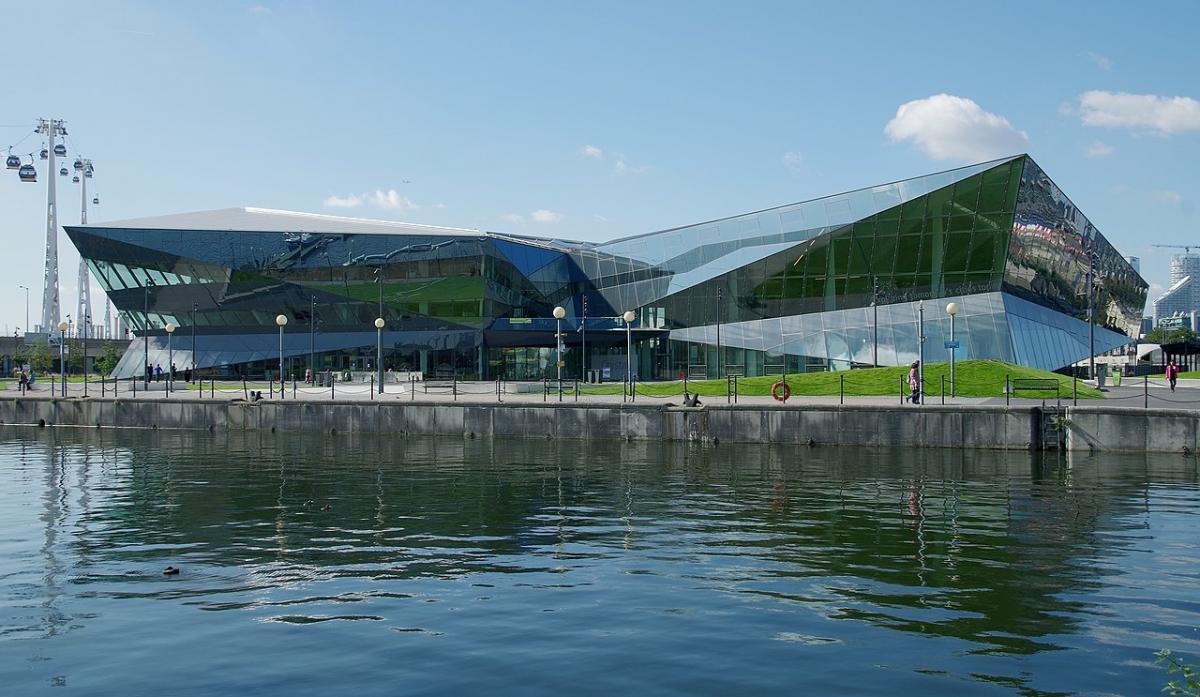 """Didžiojo Londono administracija išsikelia į tvarumu pasižymintį """"The Crystal"""", kuris Rytų Londono dokuose prieš 8 metus pastatytas pagal """"WilkinsonEyre"""" projektą. Foto: Matt Buck"""