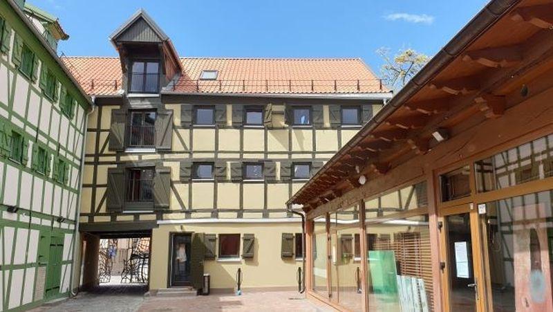 Klaipėdoje įgyvendintas fachverkinės architektūros tvarkybos projektas apėmė pastatų kompleksą Bažnyčių g. 4 / Daržų g. 10; Bažnyčių g. 6; Aukštoji g. 1 / Didžioji Vandens g. 2; Vežėjų g. 4. Foto: LDS
