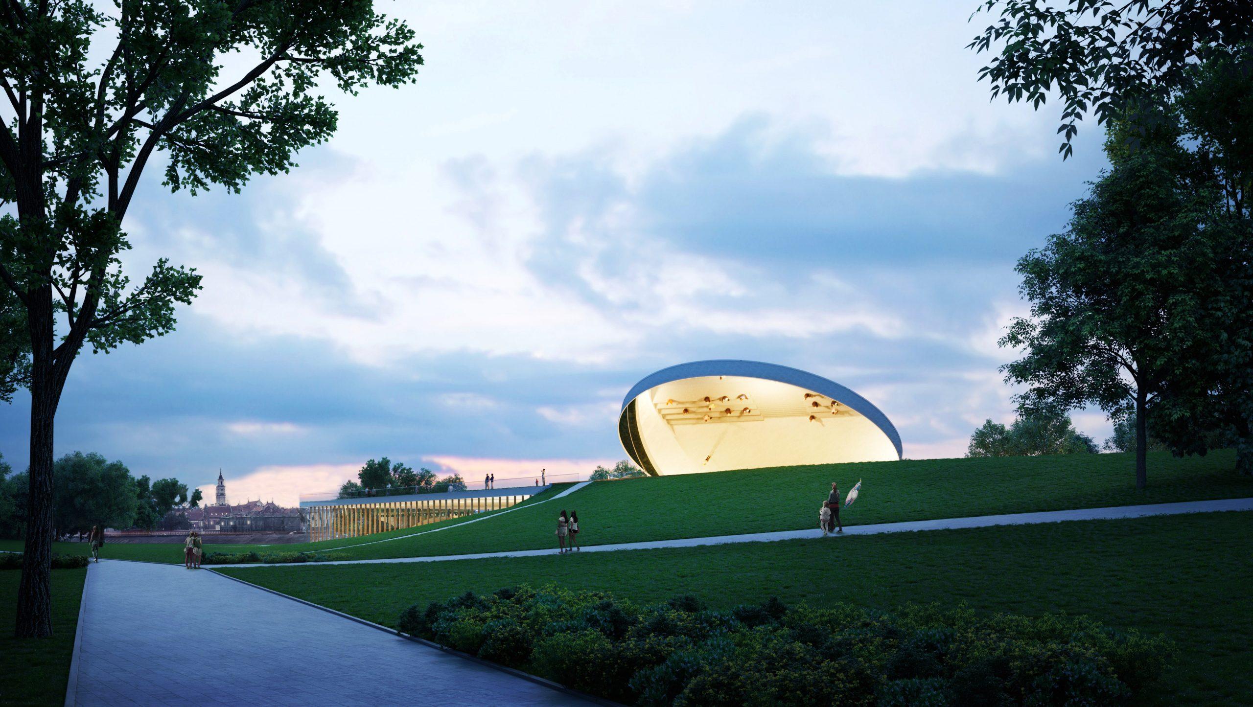 """Mokslo centras Nemuno saloje """"Mokslo salos"""" ( arch. """"SMAR Architecture studio"""")"""