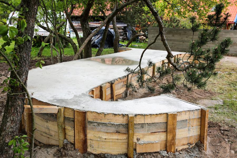 Skulptūra viešojoje erdvėje, autorius Ž.Landzbergas, Foto: Julijos Navarskaitės