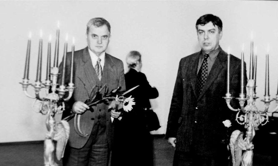 Osvaldas Daugelis tapo M.K.Čiurlionio muziejaus direktoriumi 1992-aisiais, daugiau nei dešimtmetį dirbęs įvairiose pareigose. Foto: O.Daugelio asmeninis archyvas.