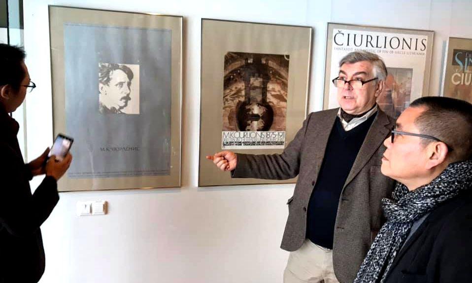 Dėka ilgos ir nuoseklios Osvaldo Daugelio diplomatijos, M.K.Čiurlionis ir jo kūryba tapo žinoma visame pasaulyje. Foto: O.Daugelio asmeninis archyvas.