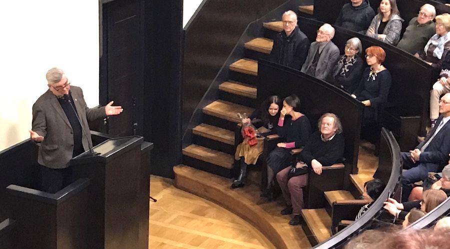 Osvaldas Daugelis atidavė Nacionaliniam M.K.Čiurlionio dailės muziejui – 41 metus. Foto: ©Pilotas.LT