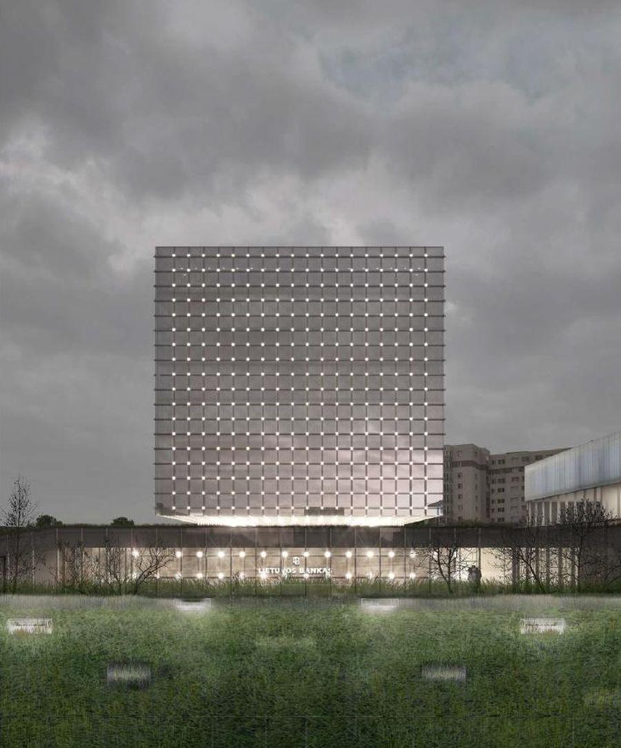 Administracinės paskirties pastatų Žirmūnų g. 151, Vilniuje rekonstravimo projektas (PV – J.Porvaneckaitė-Dagilienė, PDV – A.Dagelis)