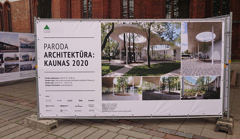 """Viljkaviškio autobusų stotis – vienas ryškiausių parodos-konkurso """"Architektūra: Kaunas 2020"""" objektų. Foto: ©PILOTAS.LT"""