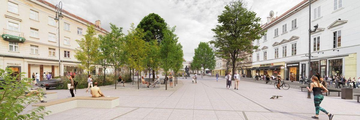 """Konkursinis darbas devizu """"Strassen-Platz"""", 1-oji veta, 9.000 Eur premija"""