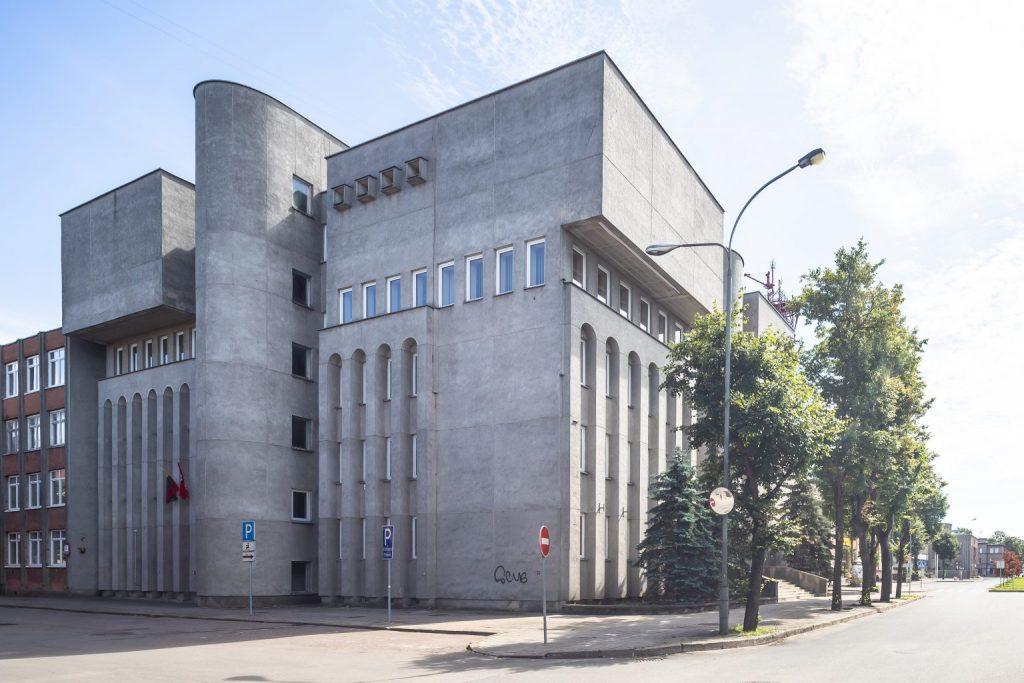 Administracinis pastatas Respublikos g. 62 / buv. Informacinio skaičiavimo centras (arch: A.Blūšius, 1989 m.). Foto: N.Tukaj