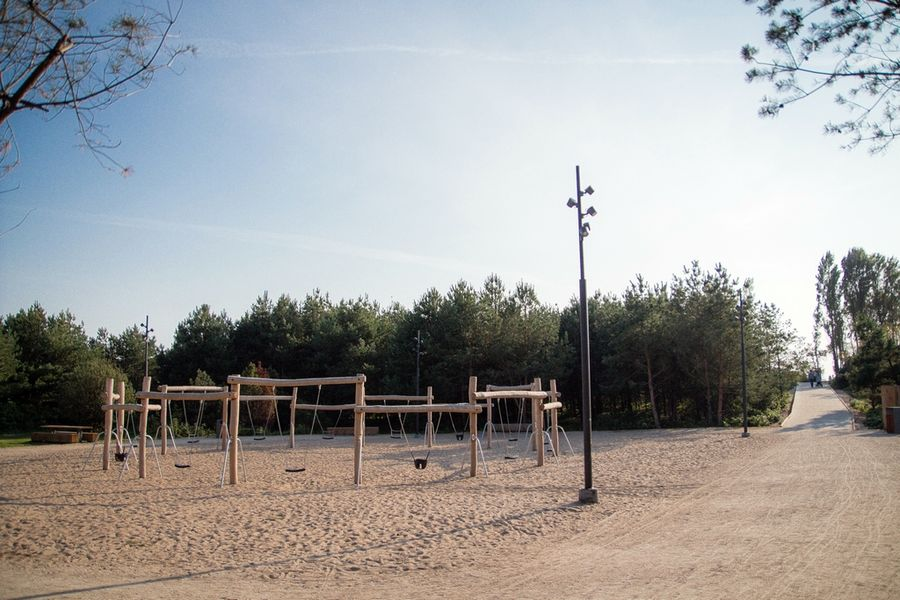 Melnragės parkas (arch. V.Pilkauskas). Foto: Klaipėdos savivaldybės