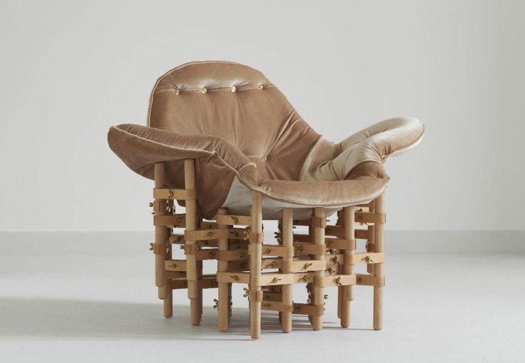 """Envisioned Comfort"" krėslas (diz. M.Puipaitė, V.Gečas)"