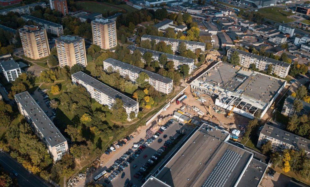 Kauno žiemos sporto centro statybos įsibėgėjo. Foto: Kauno savivaldybė