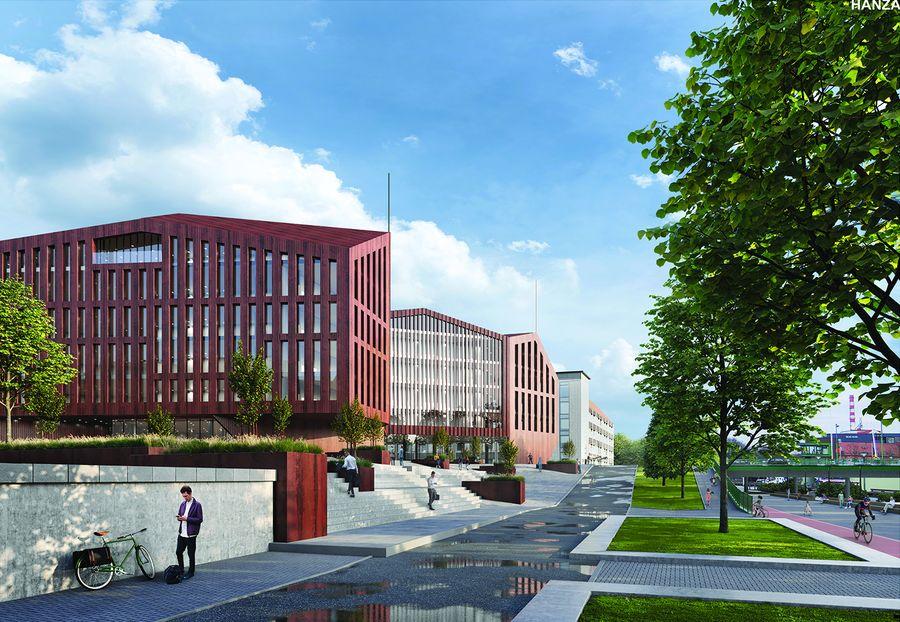"Projektas ""Hanza"" (arch. UAB ""AEXN"", UAB ""City Projects""), 1-oji vieta"
