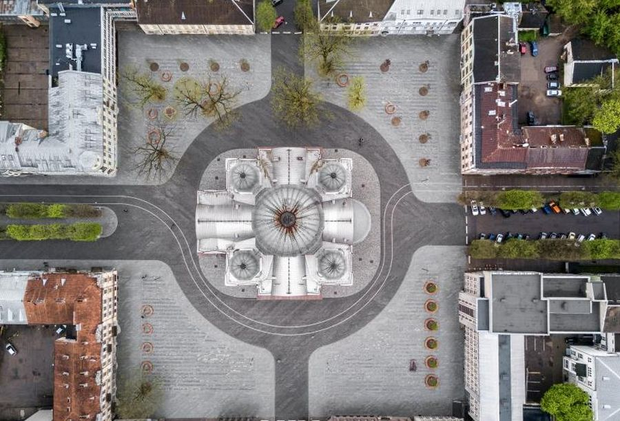 """Laisvės alėjos rekonstrukcija (arch. Š.Kiaunės projektavimo įmonė), """"1/5 metro"""""""