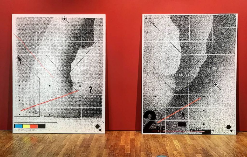 """Body of Work"", I.Likšaitė, Leipcigas. Foto: I.Likšaitė"