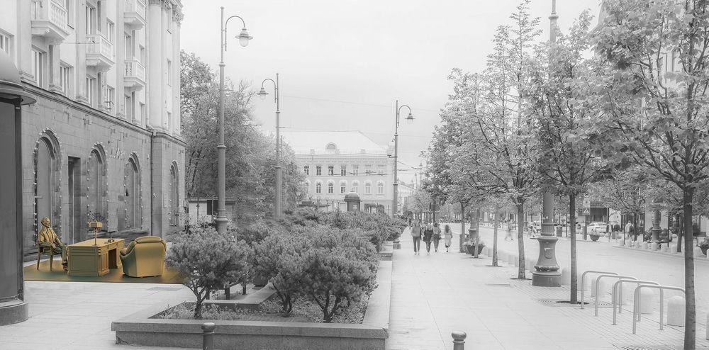 "Projektas devizu ""Kabinetas"" (autoriai G.Čaikauskas, G.Piekuras), 2-oji vieta"