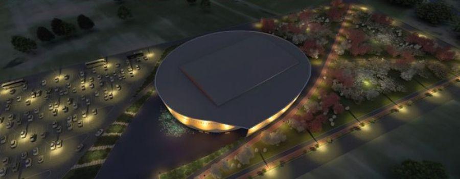 Marijampolės daugiafunkcė arena (arch. J.Fišeris, M.Audickaitė)