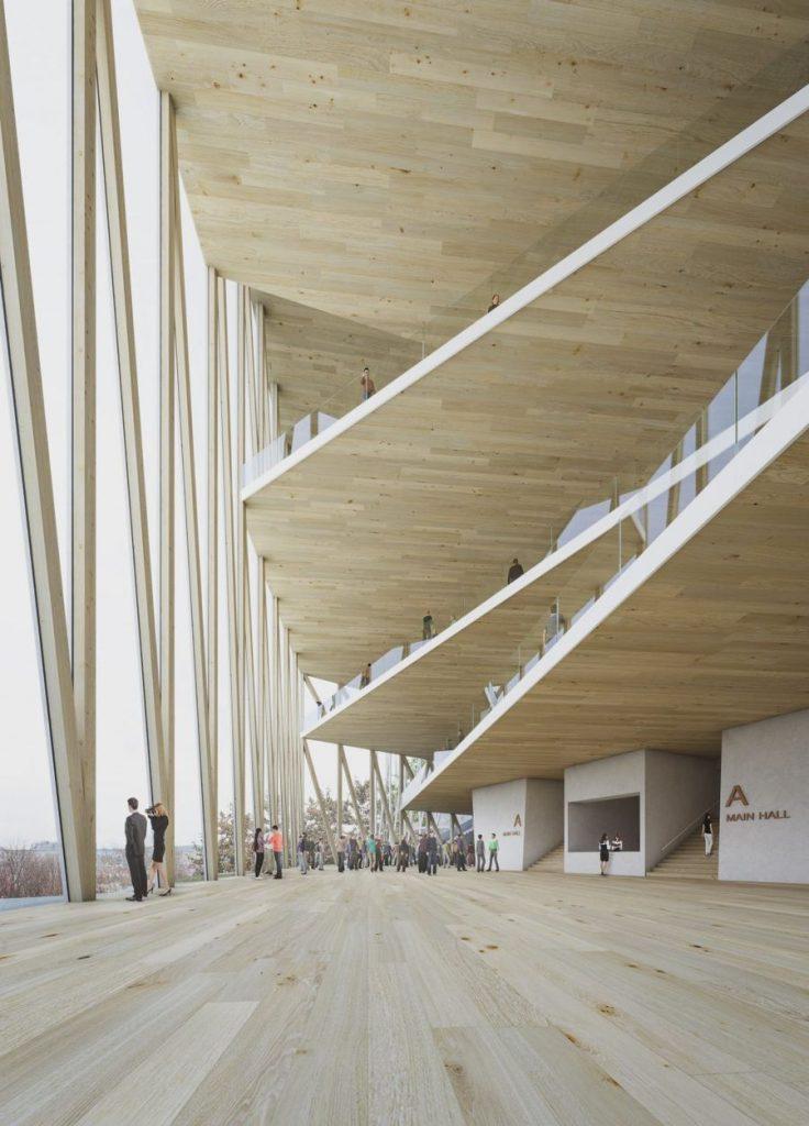 """Nacionalinė koncertų salė """"Tautos namai"""" (arch. """"Arquivio architects"""")"""