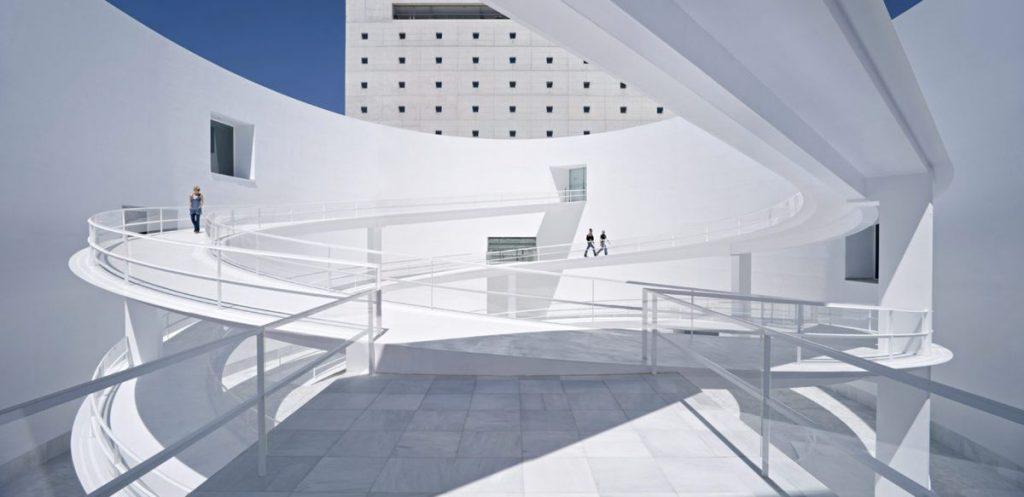 Andalūzijos atminties muziejus Granadoje (arch. Alberto Campo Baeza, 2010 m.). Foto: Javier Callejas