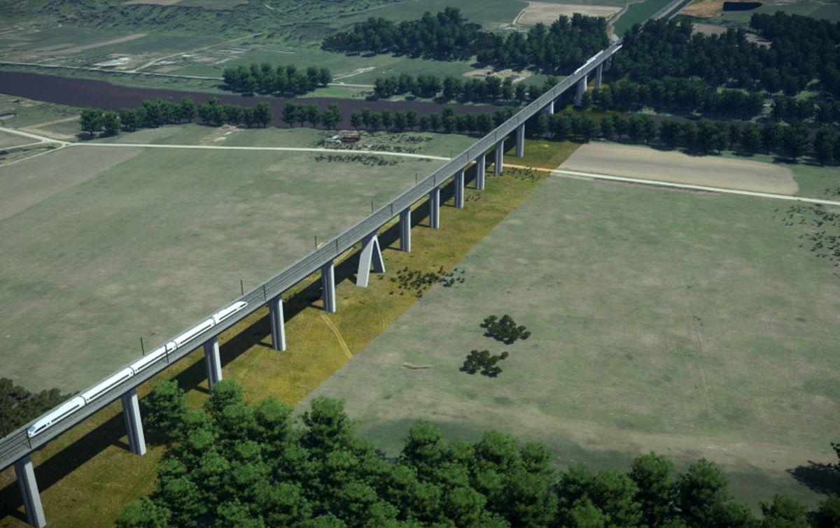 Geležinkelio tiltas per Nerį