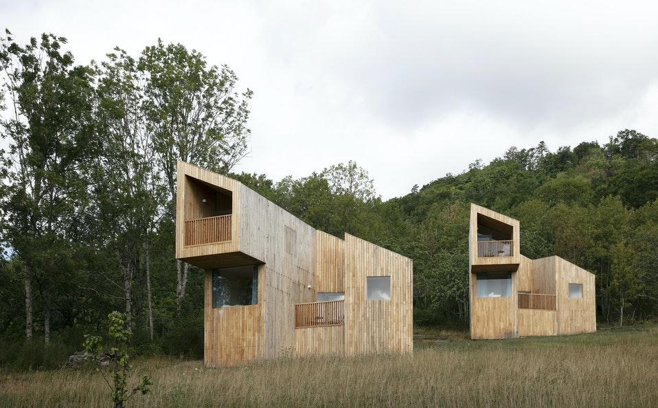 """""""48° Nord"""" (arch. """"Reiulf Ramstad Arkitekter""""). Foto: """"48° Nord""""."""