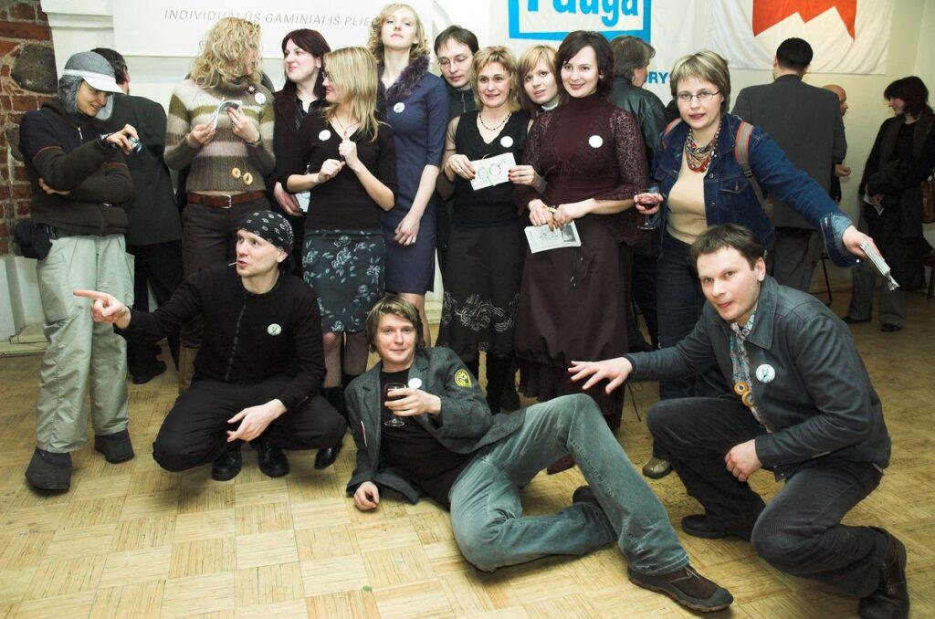 Architektūrinė redakcija užaugino ne vieną Lietuvos architektūros lauke pastebimą asmenybę. Foto: J.Kamenskas, 2006.02.09.