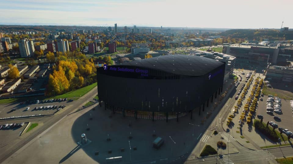 """Arena """"Avia Solutions Group"""". Pav.: G.Žiemelio."""