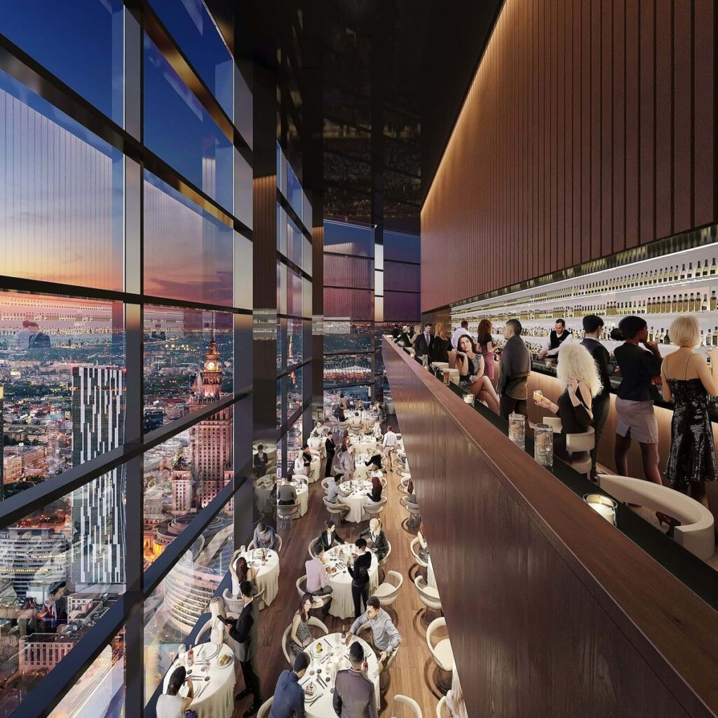 """Bokštas """"Varso"""" (arch. """"Foster and Partners"""")."""