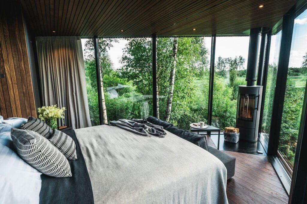 """mikroviešbutis """"Maidla Nature Resort"""" (arch. M.Hunt bei A.Ader, K.Klementi ir K.Tõugu). Foto: Priidu Saart."""