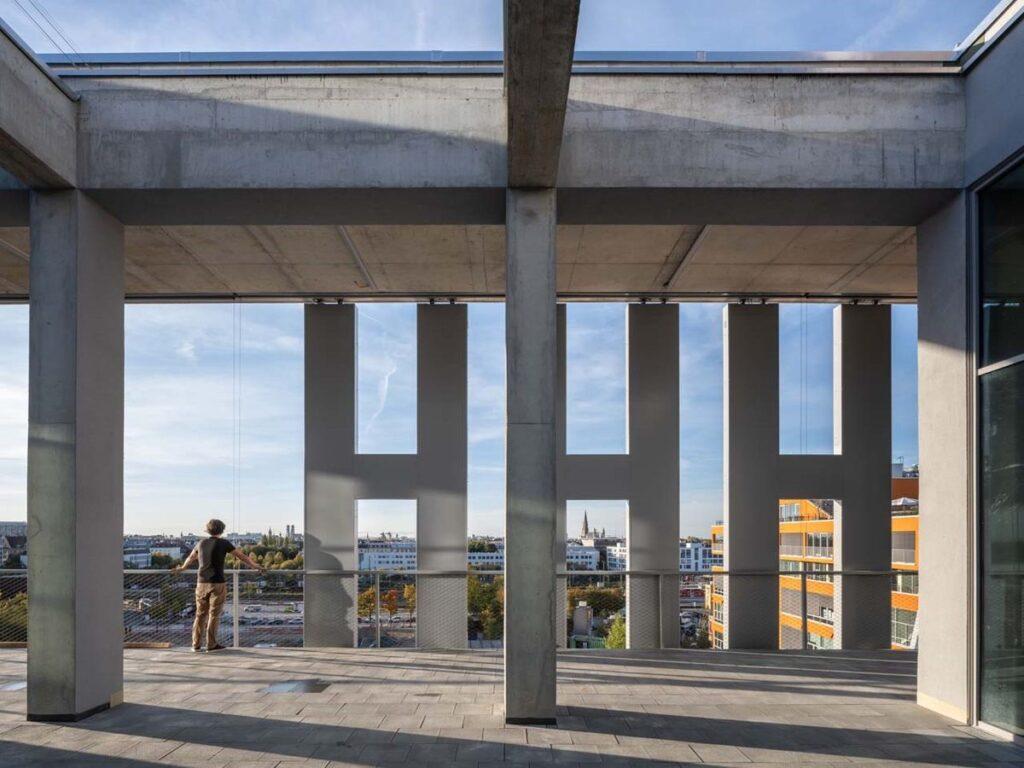 "WERK12 (arch. MVRDV su ""N-V-O Nuyken von Oefele Architekten"" ). Foto: MVRDV"
