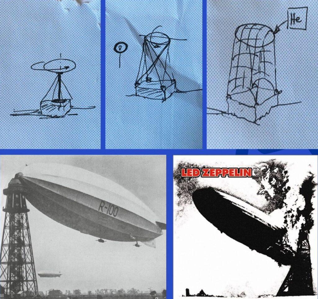 """""""_Skraidantys cepelinai / _Flying Cepelinai"""" (autoriai A.Šlapikas, S.Ecker)"""