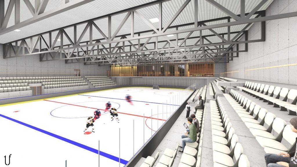 Ledo arena Vilniuje (arch. J. Fišeris, M. Audickaitė, A. Fišerytė).