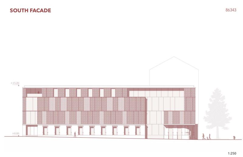 """Konkursinis projektas devizu """"86343"""", 2-oji vieta, arch. """"Studio Nother""""."""