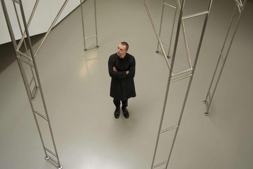7. Lietuvos erdvės agentūros įkūrėjas menininkas Julijonas Urbonas. Emilijos Filipenkovaitės nuotr.