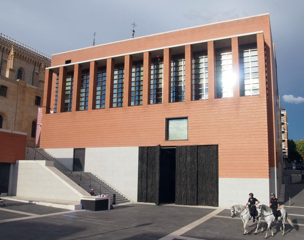Prado muziejaus išplėtimas Madride (arch. R.Moneo, 2006 m.). Foto: ©PILOTAS.LT