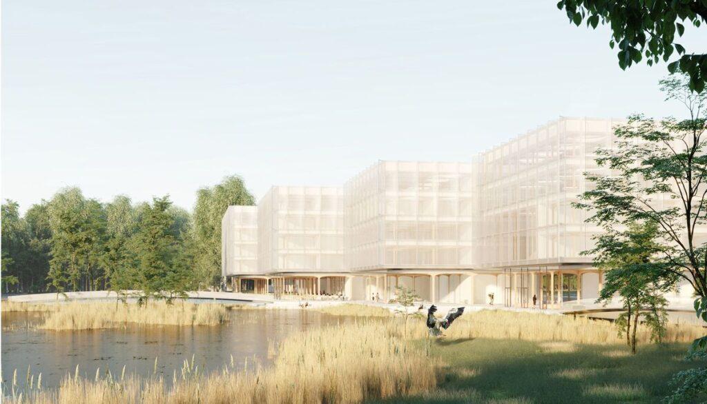 2-oji vieta – studija Neue architektūra, autoriai: Gediminas Aismontas, Domantas Baltrūnas – projektas – HOLAXY KLAIPĖDA.