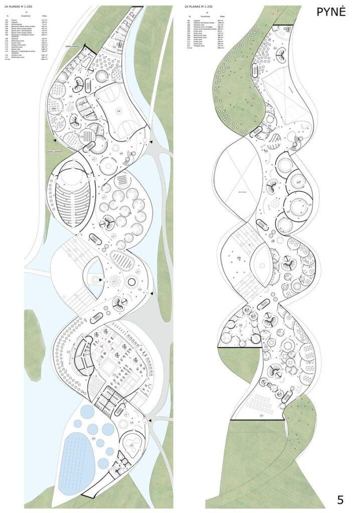 3-oji vieta – Lietuvos-Suomijos UAB Architektūros linija, autoriai: Gintaras Čaikauskas, Faustas Lasys, Gabrielė Rinkevičiūtė, Simonas Čaikauskas – projektas PYNĖ.