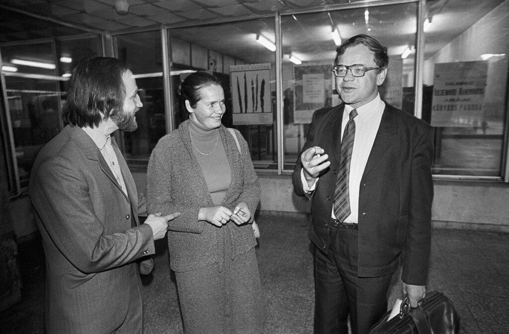 Vilpišauskas ir Martinaitis, R.Požerskis, 1982 m.