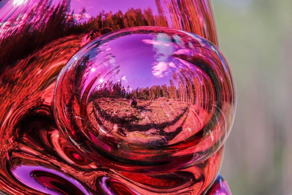 """Remigijaus Kriuko stiklo skulptūrų serija """"Miško dvasios"""". Foto: Indrė Stulgaitė Kriukienė"""